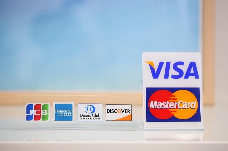 クレジットカード対応可能